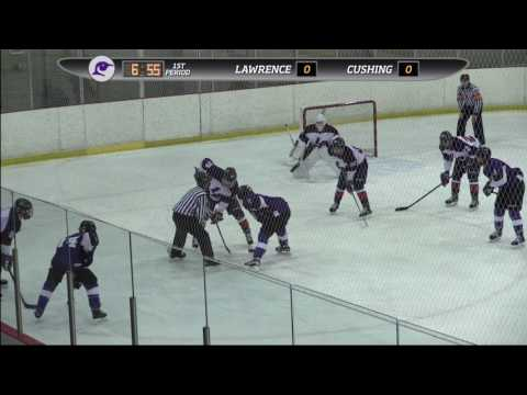 Cushing Academy - Watkins Tournament: Varsity Boys Hockey vs. Lawrence Academy