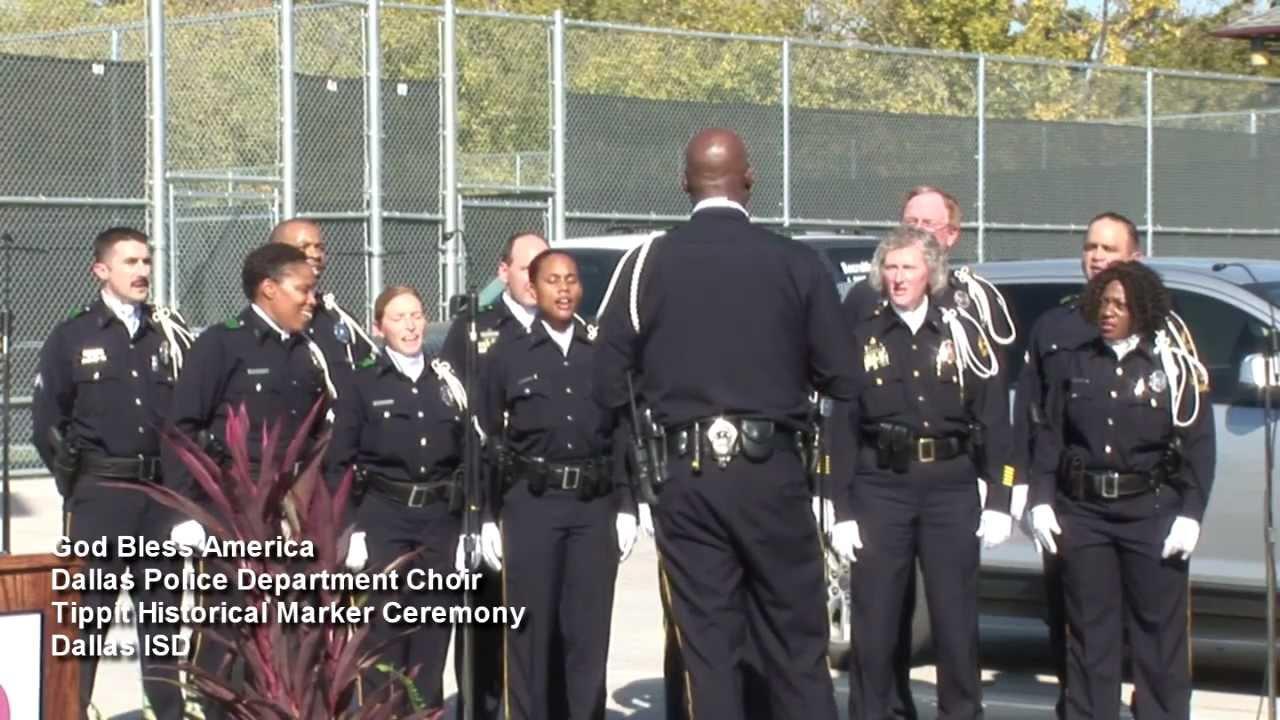 God Bless America - Dallas Police Department Choir