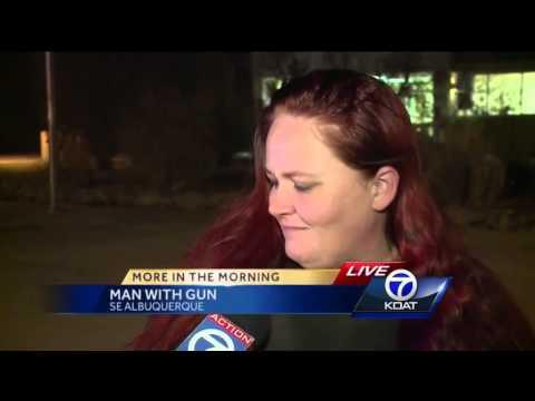 Man With Gun Near Manzano Mesa Elementary School