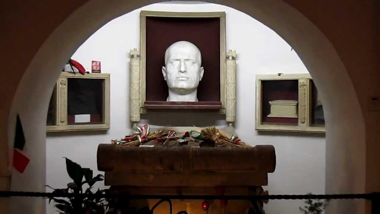 Mussolini Crypt Predappio Forl 236 Cesena Emilia Romagna