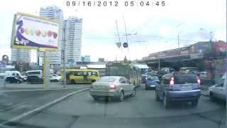 Обрыв контактного провода Украина Киев