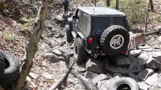"Red trail ""Shoot the Moon"" @ Rausch Creek Off-Road Park"