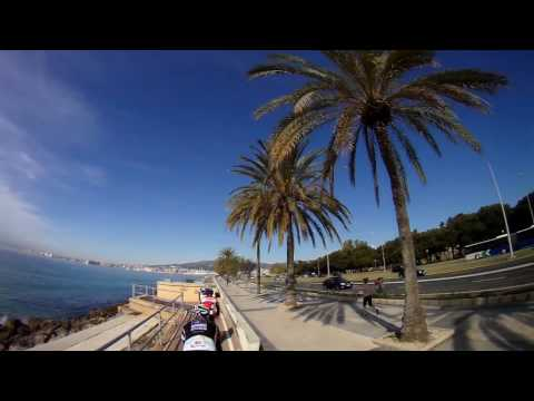 Road Cycling Video for Indoor Bike Training 90 Minute