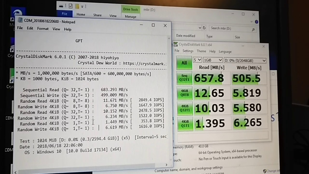is there any performance difference between GPT and MBR drive volumes