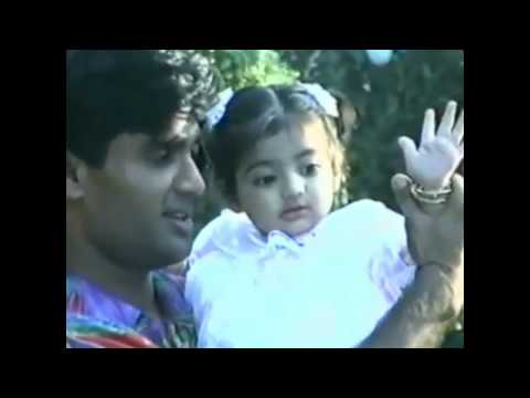 Suniel Shetty Exclusive video with His Wife | Baby Athiya Shetty Dancing | Suniel Shetty | HD