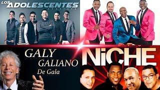 LA SALSA QUE HIZO HISTORIA MIX - NICHE - GUAYACAN - ADOLESENTES - GALY GALIANO