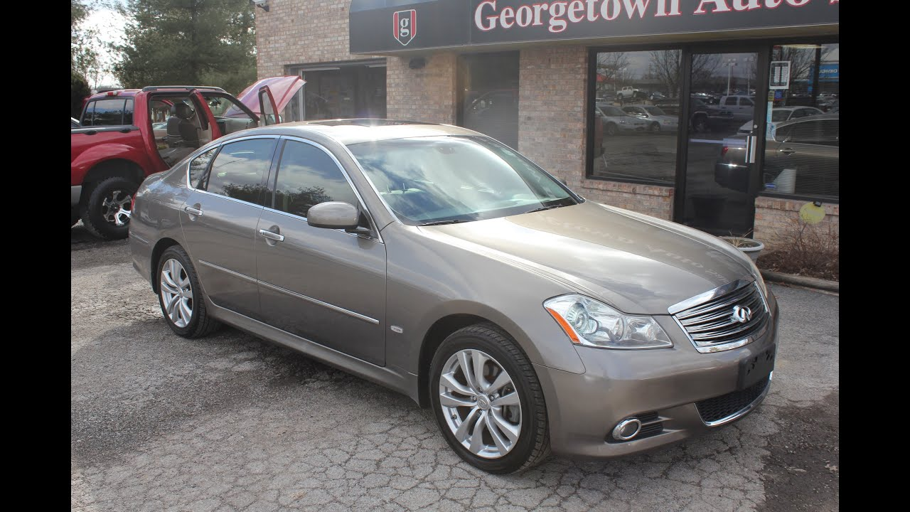 sold used 2009 infiniti m35 all wheel drive for sale georgetown auto sales ky kentucky youtube. Black Bedroom Furniture Sets. Home Design Ideas