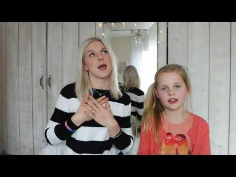 Karaoke Challenge met zusje Liv - Femke Meines
