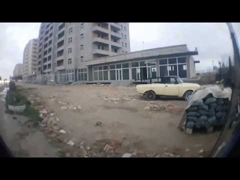 Баку, поселок Mahammadi    На стройку залезли   Rooftop #1