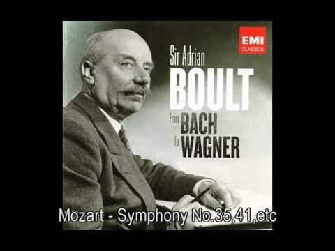 Mozart - Symphony No.35,41,Die Zauberflote, Sir Adrian Boult, LPO
