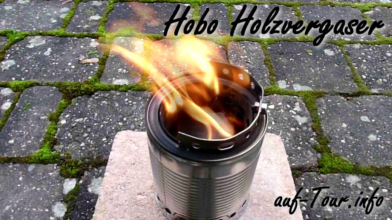 Häufig Hobo Holzvergaser selbst gebastelt - auf Tour DG67