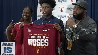 FOOTBALL: Summit RB Stephen Carr signs with USC Trojans
