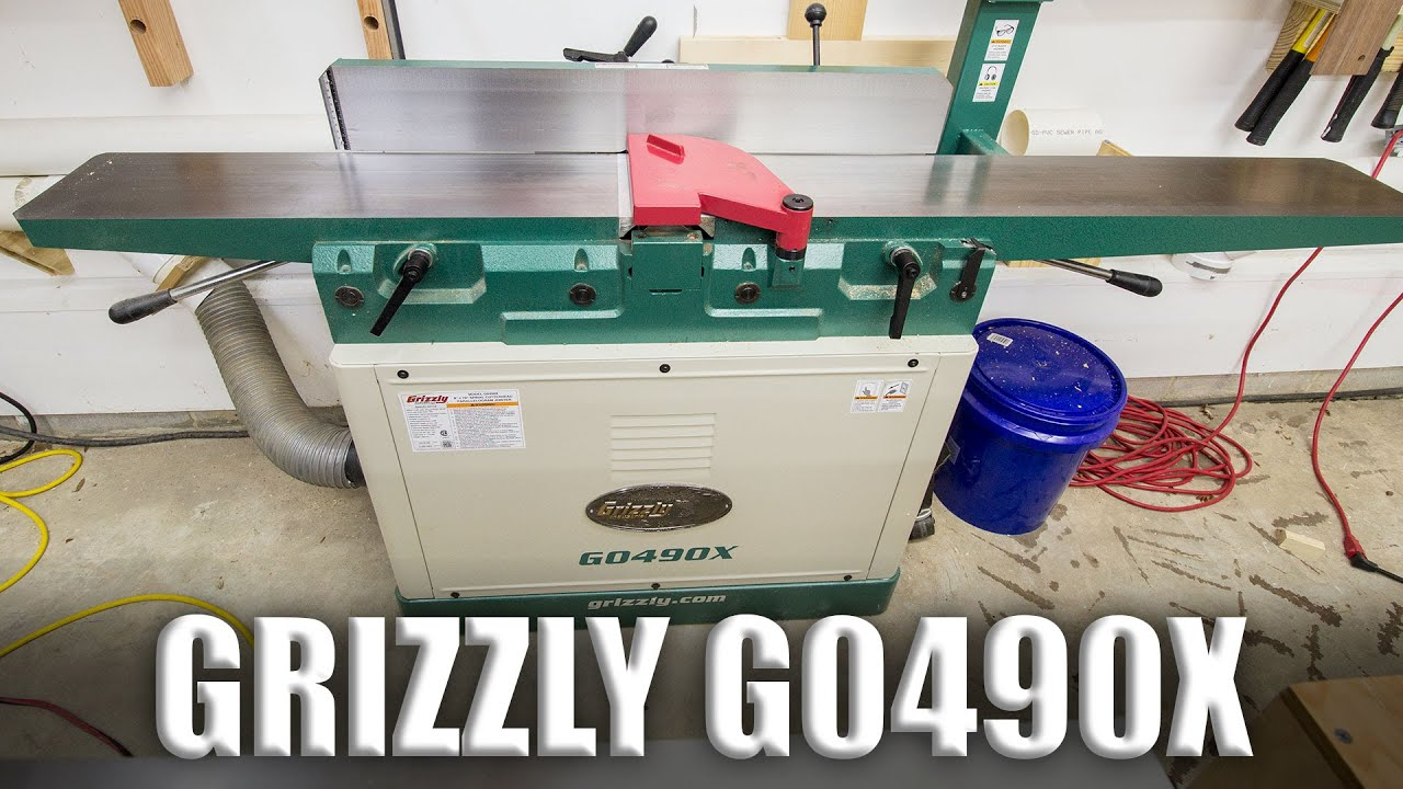 Tool Talk 1 Grizzly G0490x Jointer