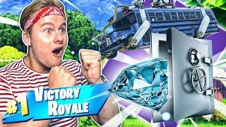 *NEW* GAMEMODE: DIAMANTEN STELEN UIT DE KLUIS!! - Fortnite Battle Royale (Nederlands)