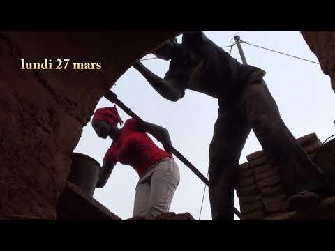 Tourisme solidaire, construction d'une maternelle en terre paille au Sénégal