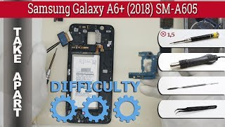 How to disassemble 📱 Samsung Galaxy A6 Plus (2018) SM-A605