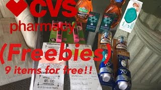 My Second Deal At CVS 4/9/17 100%savings All free!