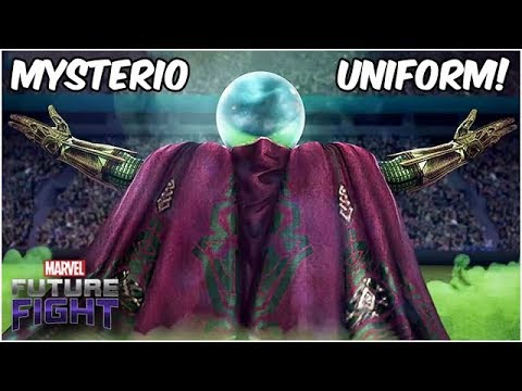 Mysterio Appears! What Is He Hiding? Spider-Man Far From Home - Marvel Future Fight