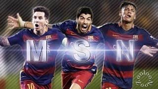 MSN ● Messi - Suarez - Neymar ● 2015 -2016 ● Part 1 ||HD||