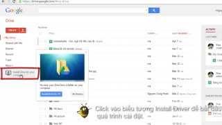 Cách sử dụng Google Drive để lưu & chia sẻ file