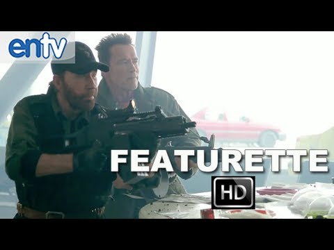 The Expendables 2 Behind the Scenes Featurette [HD]: Stallone, Schwarzenegger & Chuck Norris