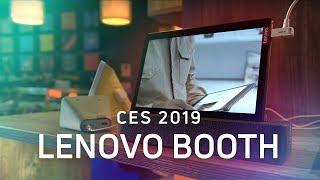 Lenovo @ CES 2019: Smart Clocks, Smart Tabs, and More!