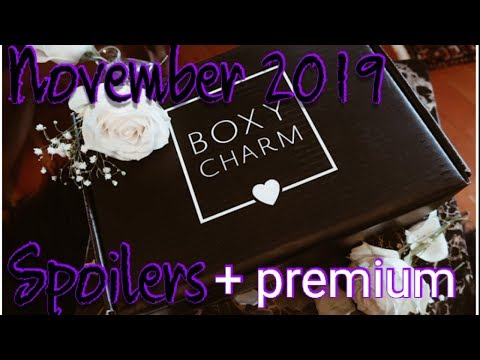 Shade colors!!!! November 2019 Boxycharm spoilers premium spoilers thumbnail