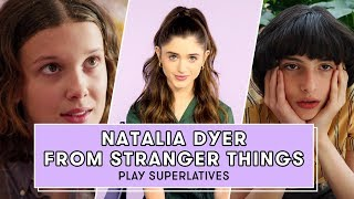 Stranger Things Star Natalia Dyer Reveals Which Cast Member is Most Likely to Ghost a Date