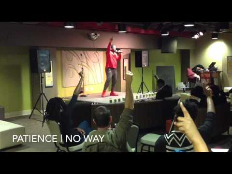 Patience | No Way (Live @ the Creative Cafe) TheRealPatience