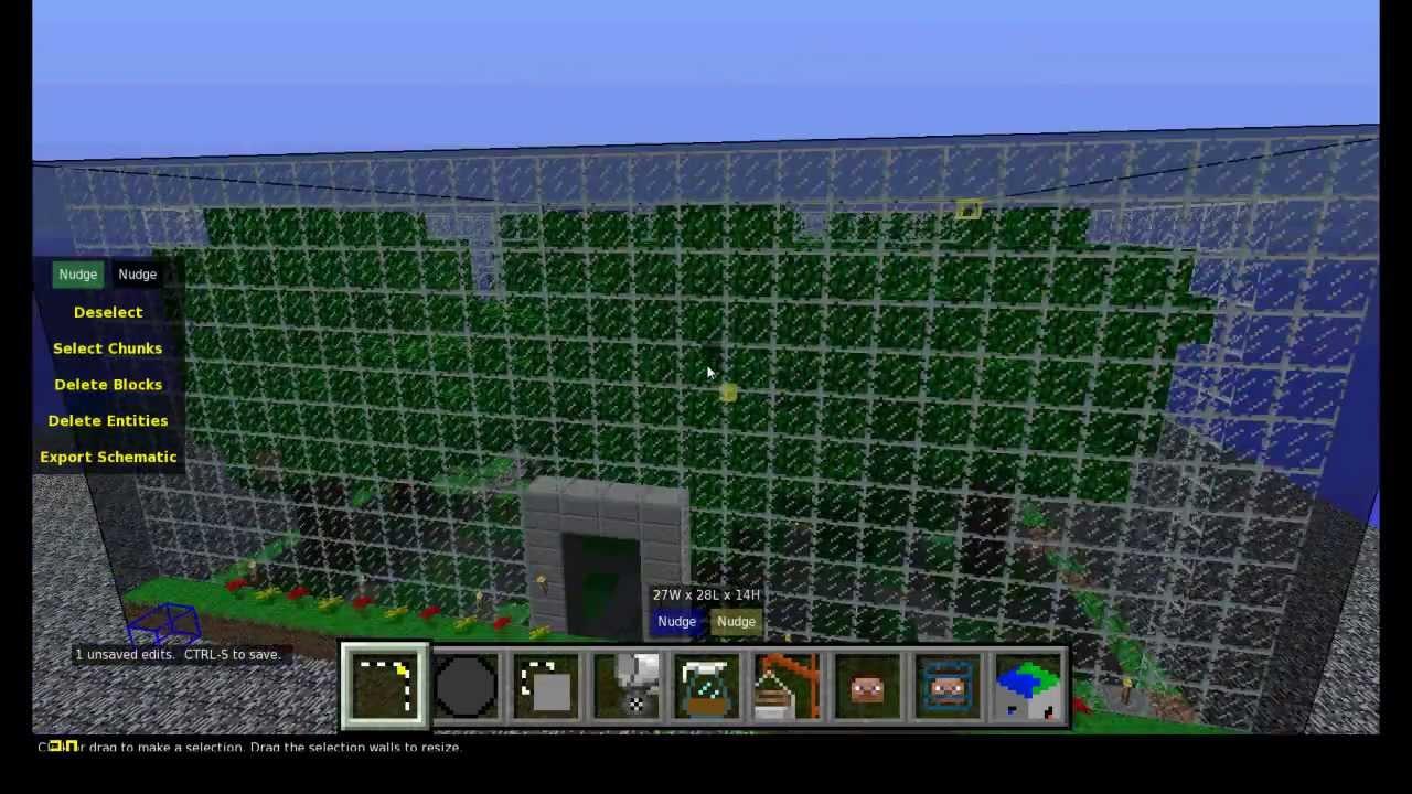 Minecraft Tutorial Gebäude Laden Und Einfügen Mit WE Und MCEdit - Hauser in minecraft einfugen
