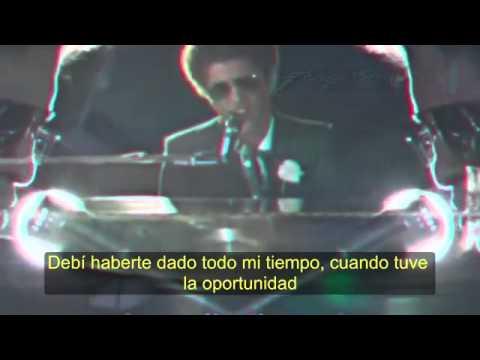 When I Was Your Man (Lyrics Español) - Bruno Mars