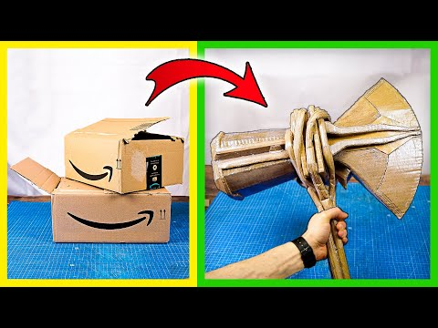 How to make a Stormbreaker with cardboard