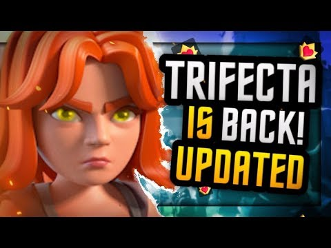 THIS NEW TRIFECTA DECK DOMINATES LADDER! Updated Hog, Musketeer, Valkyrie Deck!