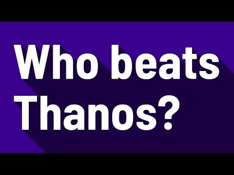Who beats Thanos?