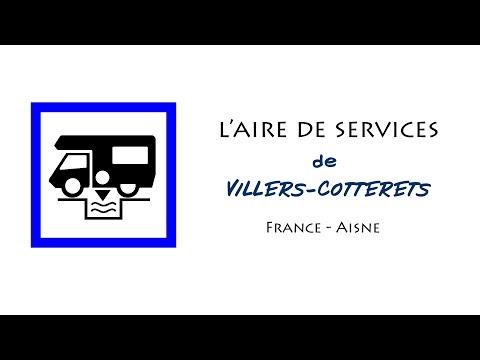 Villers-Cotterêts : aire de services pour camping-cars dans l'Aisne (France)