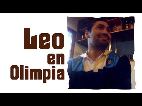 Leo en Olimpia (Leonardo Gutiérrez - Básquetbar)