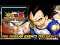 ARE DOKKAN EVENTS TOO EASY!? NEW EVENTS WITH LOW DIFFICULTIES?   DRAGON BALL Z DOKKAN BATTLE