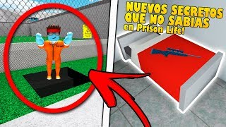 THE NEW SECRETS AND TIPS OF PRISON LIFE THAT YOU DO NOT KNOW SAFE! Roblox
