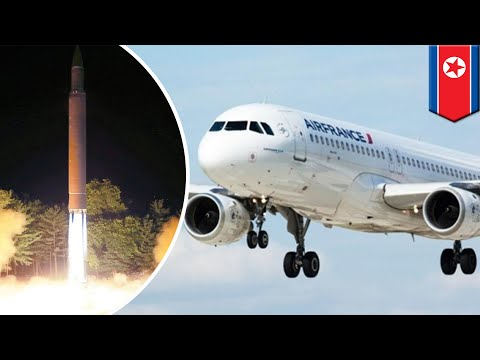 North Korea: Air France jet passed DPRK missile landing site minutes before hit - TomoNews