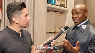 "CHRIS EUBANK SR SHOWS RESPECT TO CANELO; WARNED JR ON CANELO FIGHT ""HE CAN RIP YOU TO SHREDS"""