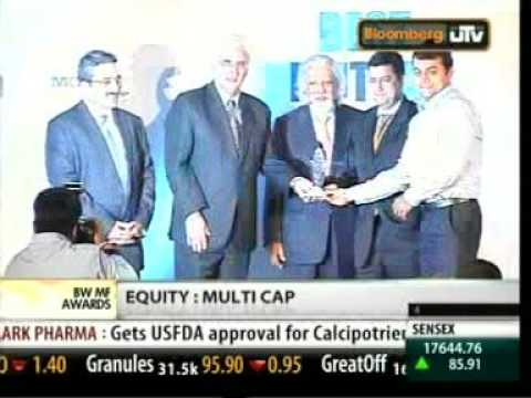 Mohit Mirchandani: Best Mutual Fund Manager 27032010 Bloomberg UTV