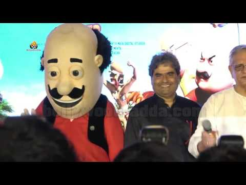 Motu Patlu King Of Kings (2016) - Vishal Bhardwaj   Gulzar   Music Launch Of 3D Film thumbnail