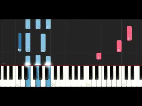 XXXTentacion - Slipknot (SLOW EASY PIANO TUTORIAL)
