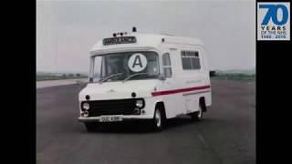 Ambulance suspension development film (approx 1977)