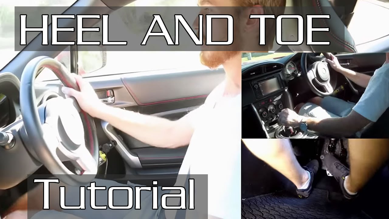 How to HeelToe and Double Clutch Downshift with detailed