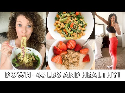 WHAT I EAT IN A DAY - Vegan Weight Loss | Plant Based, Starch Solution Meals