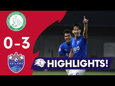 Geylang Lion City Goals And Highlights