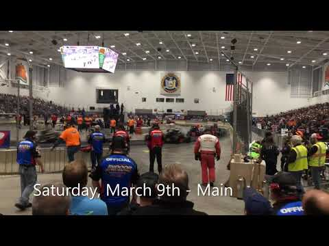 Syracuse Indoor Racing, March 8 and 9, 2019
