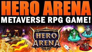 Hero Arena (HERA) - P2E Metaverse RPG Game! Multi-chain! NFT Marketplace! screenshot 4