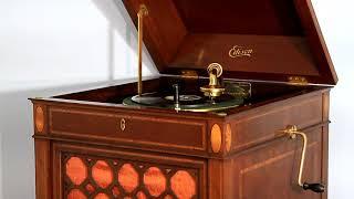 """Barber of Seville Overture (Rossini)"", Creatore and his Band, Edison Diamond Disc Record #51009-R"